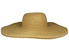 Straw Hat, Toast/Natural