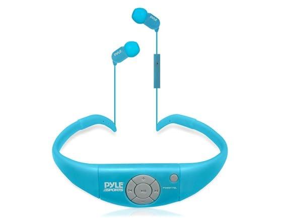 waterproof bluetooth in ear headphones electronics woot. Black Bedroom Furniture Sets. Home Design Ideas