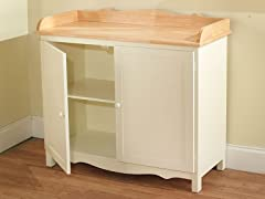 TMS Farmhouse Buffet White/Natural
