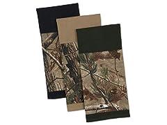 Real Tree Dishtowel Set Of 3