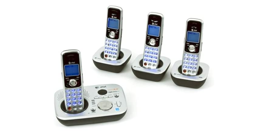 at t cordless phone with answering machine