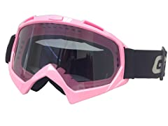 Youth Off-Road Goggles - Pink