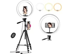"""12.6"""" Selfie Ring Light with 54"""" Tripod Stand"""