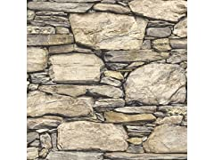Hadrian Stone Wall Peel & Stick Wallpaper