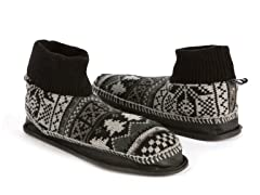 MUK LUKS® Retro Nordic Ankle Slipper