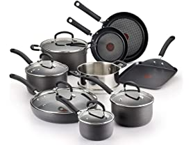 T-fal Hard Anodized 14-Piece Cookware Set