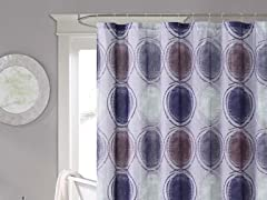 Kaden Embossed Shower Curtain - 2 Colors
