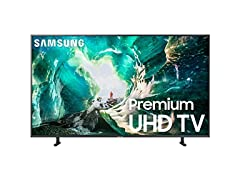 "Samsung UN75RU800DFXZA 75"" Smart 4K TV"