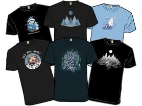 Winter Wander Derby Editor's Choice Tees