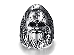 """Stainless Steel """"Chewy"""" Ring"""