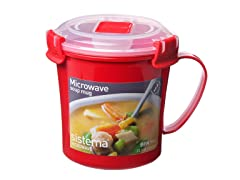 Microwave Soup Mug 22 oz