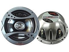 6.5'' 240W 2-Way Speaker System (Pair)