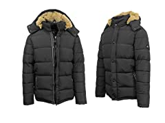 Mens Snorkle Jacket with Fur Lined Hood