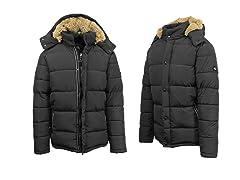 Mens Snorkle Jacket with Fur Lined Hood