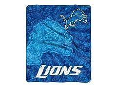 Detroit Lions 50x60 Sherpa Throw