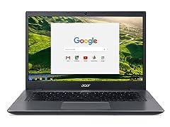 "Acer 14"" Dual-Core Intel 16GB Chromebook"