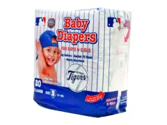 Detroit Tigers Diapers (160-192ct)