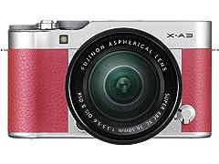 Fujifilm X-A3 Mirrorless Camera XC16-50mm F3.5-5.6 II Lens Kit