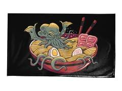 Ramen Cthulhu Tea Towel