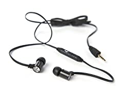 JLab J4M Rugged Metal Earphones w/ Mic