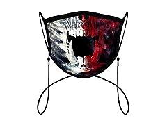 Print Cloth Face Mask Neck Lanyards
