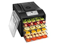 Magic Mill Stainless Steel 6 Tray Food Dehydrator