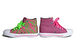 Girls Hot Z High-Top (13-5 Youth)