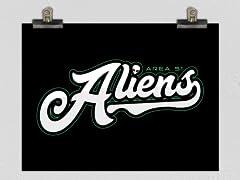Area 51 Aliens Poster