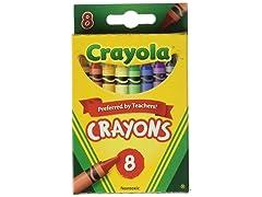 12pk Crayola Crayons (8 Crayons/Pk)