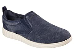 Men's Relaxed Fit Shoe - Navy