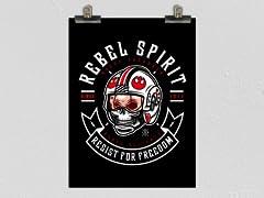 """Rebel Since 1977"" Poster"