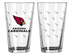 Cards Pint Glass 2-Pack