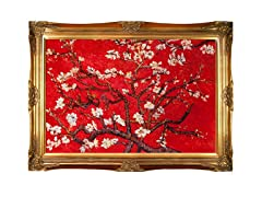 Van Gogh -Almond Blossom (Red)