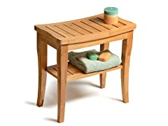 Bambusi Bamboo Shower Stool Bench
