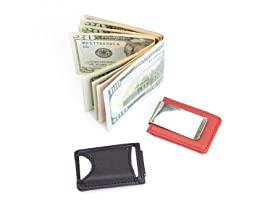 ROYCE BT Tracker Money Clip Wallet