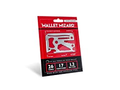 Wallet Wizard Stainless Steel Multi-Use Tool