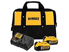 DeWALT 20V MAX 2-Battery Starter Kit