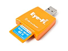 Eye-Fi Connect 4GB Wireless Memory Card