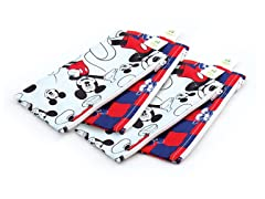 Mickey Small Snack Bag 4-Pack