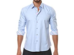 Jared Lang Dress Shirt, Light Blue
