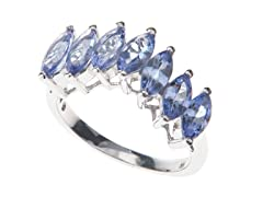 SS Tanzanite Marquise Ring