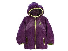 Purple Sherpa Fleece Jacket (2T-6X)