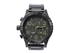 Nixon Chronograph A0831042 Matte Watch