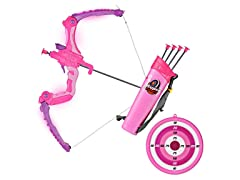 SainSmart Jr. Kids Bow and Arrows, Pink