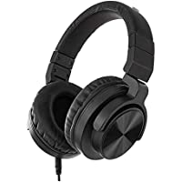 Deals on AmazonBasics Over-Ear Studio Monitor Headphones