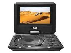 "Pyle 9"" Portable DVD Player MP3/MP4/USB Player"
