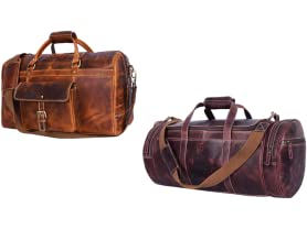 Aaron Leather Travel Bags