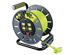 MasterPlug 80' Extension Cord Reel