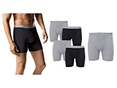Hanes Men's Tagless Boxer Briefs 5-Pk