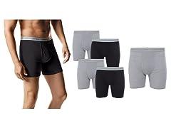 Hanes Men's Tagless Boxer Briefs 5-Pk